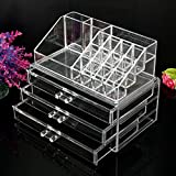 Best GENERIC Jewelry Boxes - New Cosmetic Jewellery Rack Makeup Organizer Box Case Review