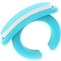 Wearable Baby Nail File with a Ring for Your Finger I Very Useful Baby Nail Care Set for 0 to 12 Months I 36 Snap-Off Disposable Files/Baby Nail File (Large Mixed Pack)