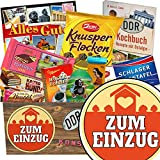 Zum Einzug | Schokoladen Paket | Geschenk Ideen | Zum Einzug | Schokoladenbox |Geschenk zum Einzug Familie | INKL DDR Kochbuch