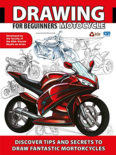 Drawing For Beginners - Motorcycle (Portuguese Edition) por On Line Editora