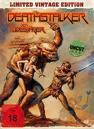 Deathstalker - Der Todesjäger - Uncut Vintage Edition (+ DVD) - Mediabook, limitiert auf 1.500 Stück, inkl. Booklet, HD neu abgetastet [Blu-ray] -