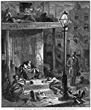 New York: Poverty, 1879. /N'Among The Tenement-Houses During The Heated Term - Just Before Daybreak,' Engraving After A Drawing By Sol Eytinge, 1879. Poster Print by (24 x 36)