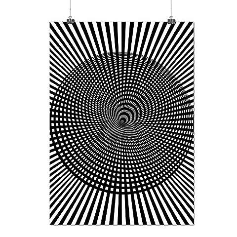 Stylish Fashion Pattern False Image Matte/Glossy Poster A3 (42cm x 30cm) | Wellcoda