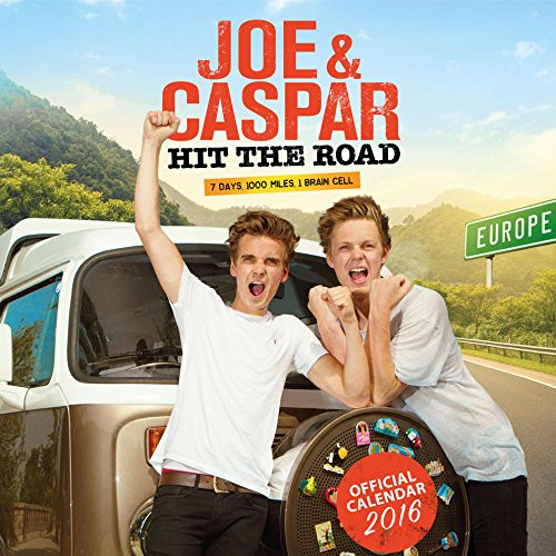 The Official Joe & Caspar 2016 Square Calendar