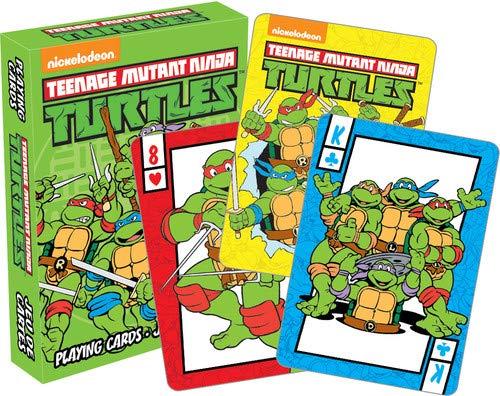 Teenage Mutant Ninja Turtles set of 52 Playing Cards + Jokers (nm 52490) (Turtles Teenage Ninja Gesicht Mutant)