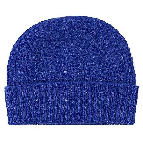 ScotlandShop - Bonnet - Femme taille unique - bleu - Taille Unique