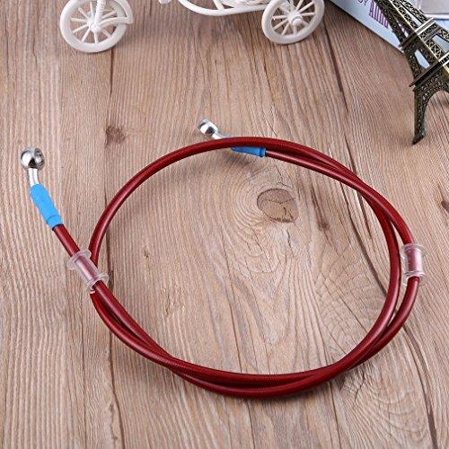 Preisvergleich Produktbild Motorrad geflochtene Stahl Bremskupplung Ölschlauch Rohr für Racing Dirt Bike