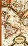 Small Travel Notebooks / Gifts [ Softback - $5.50 / 3.59 / 4.59] Record your adventures in this beautiful traveler's / traveller's notebook from smART bookx. The cover features a rare and decorative Dutch 17th century world map, originally ma...