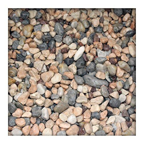 5 kg Marmor-Dekosteine 7/25 mm Marmorkies Dekokies PU-Harz ummantelt Bunt
