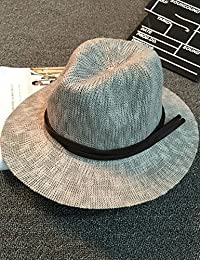 Beach Sun Hat Neodymium Tide Hat Beach Must Have A Hat Summer Casual Foldable Jazz Hat Soft and comfort