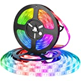 Eleadsouq LED Strip Light USB Powered Smart WiFi 2 Meter TV Backlight Strips Lighting Colorful 5050 RGB Lights Home Decoratio
