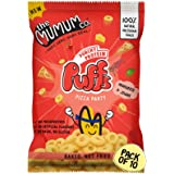 The Mumum Co. Pizza Party Protein Puffs Healthy Snacks for Kids, 200 g (Pack of 10)