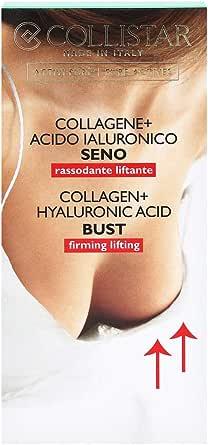 Collistar Attivi Puri Collagene + Acido Ialuronico Seno | Trattamento Urto che ridensifica, ricompatta la pelle e previene le smagliature | Ideale per seno rilassato | 50 ml