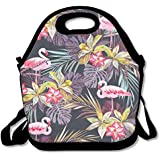 Lanch Bagflamingo Swamp Painting Lunch Box Lunch Box Containers