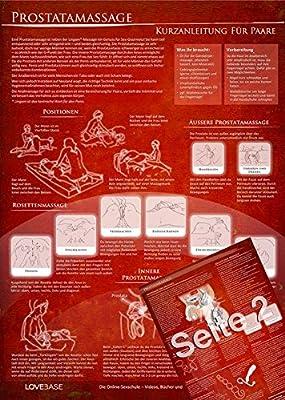 Anal- und Prostatatmassage - Kurzanleitung (2016) - Massage-Techniken für die Tantramassage und mehr Genuss beim Sex: Ideal für die erotische Massage ... für den Mann [DIN A4 - zweiseitig, laminiert]