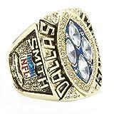 Titan Stahl Dallas Herren 1993 Dallas Meisterschaft Ringe,Größe 59(18.8)
