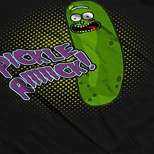 Rick And Morty Pickle Rick Women's Sweatshirt Black
