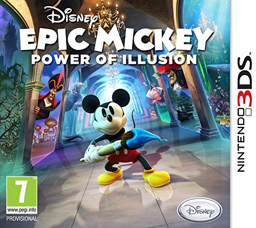 Disney Epic Mickey : Power of Illusion [Importación francesa]