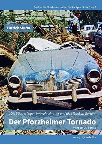 """Der Pforzheimer Tornado vom 10. Juli 1968: """"Die Bäume liegen im Wohnzimmer und die Möbel im Garten"""""""