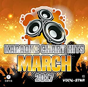 Karaoke 2017 Chart Hits CDG CD+G Disc - 18 Songs on 1 Disc Including The Best Ever Karaoke Tracks From March 2017 (Ed Sheeran, Katy Perry, Rag N Bone Man and much more) From Vocal-Star Karaoke