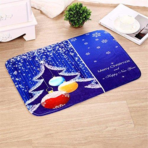 Sansee Dekor Lappen Teppich Für Weihnachten-16472 (Größe: 40cm X 60cm, Y0905 C)