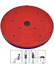 Shopidity™ Tummy Twister & Trimmer/Slimmer Dynamic Acupressure Disc 5 in 1 Twister,Power Mat,Magnetic Therapy,Body Weight Reducer,Figure Tone-Up & Acupressure Pyramids for Men/Women(Multicolour)