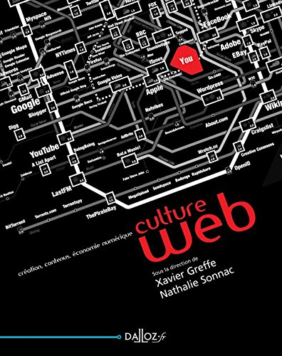 Culture web. Création, contenus, économie numérique - 1ère édition par Collectif