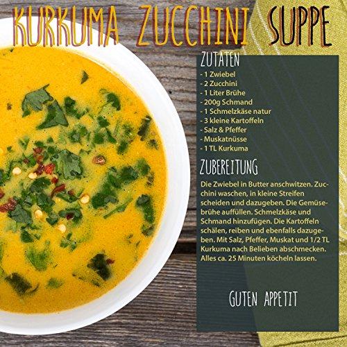 1 kg Kurkuma Pulver Turmeric Gelbwurz Kurkumin Curcuma gemahlen original vom-Achterhof – schadstoffuntersuchte Spitzenqualität – - 5