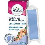 Veet Full Body Waxing Kit - Sensitive Skin (20 strips)