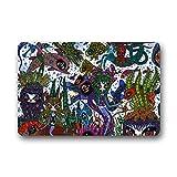 Personal Custom vanille Fu?matten Doormat Outdoor Indoor 23.6