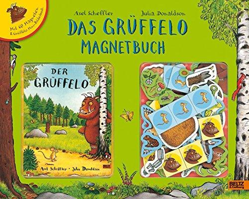 Das Grüffelo Magnetbuch: Mit 60 Magneten und Mini-Bilderbuch im Spielbuchkoffer