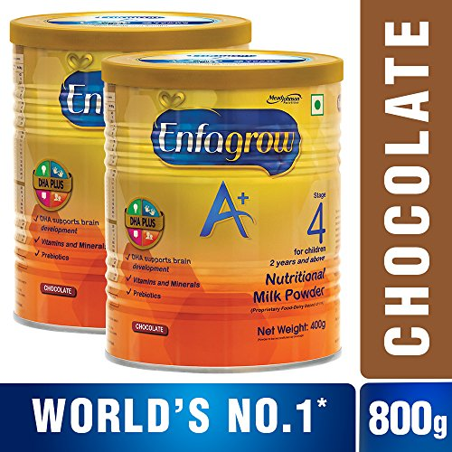 Enfagrow A+ Health and Nutrition Drink Super Saver Combo – 400 g (Chocolate, Pack of 2)