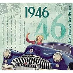 1946 Geburtstag Geschenken - 1946 Chart Hits CD und 1946 Geburtstagskarte