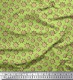 Best Nautica Quilts - Soimoi Verde Jersey di Cotone Tessuto Nave Volante Review