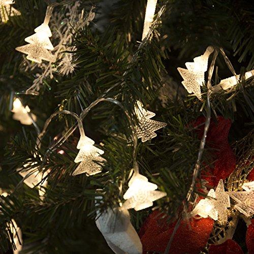 Lohas 5v 5 metros de luz LED de cadena 40 de la navidad bombilla luces decorativas blanco caliente de fiesta y festivales LED