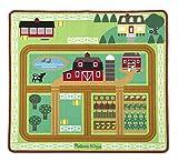 Melissa & Doug 19425 - Rund um Scheune und Bauernhof, Spielteppich, 5-teilig