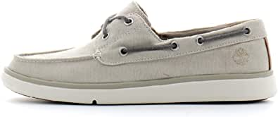 Timberland Chaussures Bateau pour Homme A2AYU Gateway Pier Pure Cashmere
