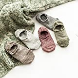XIU*RONG Baumwollsocken, Flacher Stealth Boot Socks Ist Frühling Und Sommer Herren Bewegung (10 Paare)