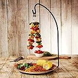Espetada Hanging Kebab Stand - Hanging Kebab Skewer Holder for Creative Food Service