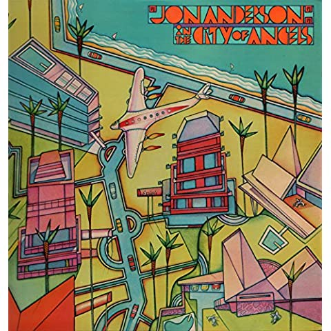 Jon Anderson - In the City of Angels (Vinyle, album 33 tours 12