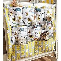 ?Bebé infantil Cuna multifunktionelle pañales Ropa de cama Multi Pocket colgar bolsa