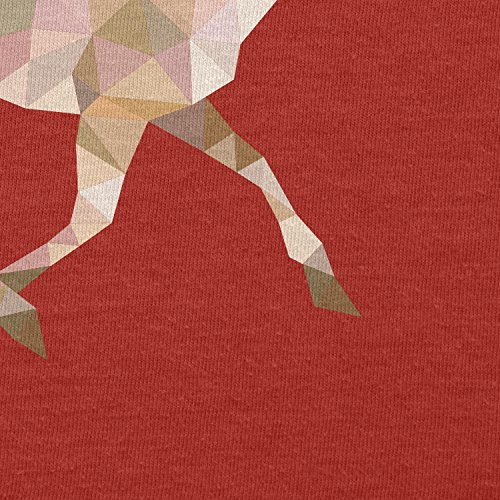 Texlab–Poly Deer–sacchetto di stoffa Rot
