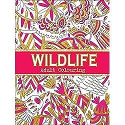 A4libro de colorear para adultos Wildlife