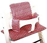 Sitzkissen beschichtet für Stokke Tripp Trapp - Retro rot