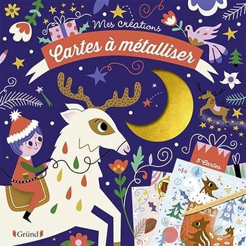 Cartes à métalliser de Noël