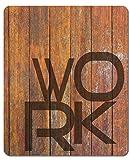 1art1 115362 Typografie - Work Mauspad 23 x 19 cm