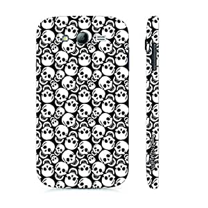 Samsung Galaxy Grand 2 Smiley Skull designer mobile hard shell case by Enthopia