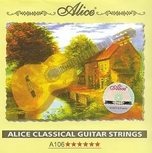 Classical Nylon Guitar Strings - Full Set of 6: Amazon.co ...