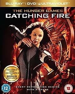Hunger Games: Catching Fire - Triple Play [Blu-ray + DVD + UV Copy] [2013]