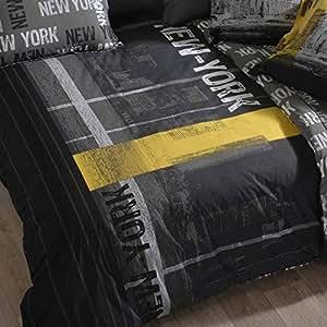 Housse de couette NEW YORK coton - 200x200